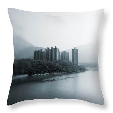 Eastern Stream Throw Pillow by Joseph Westrupp
