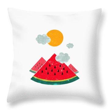 Eatventure Time Throw Pillow by Mustafa Akgul