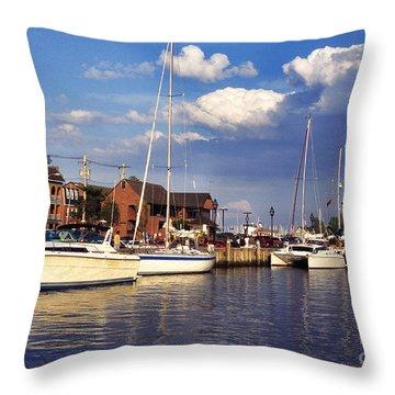 Ego Alley Annapolis Throw Pillow by Thomas R Fletcher