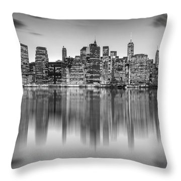 Enchanted City Throw Pillow by Az Jackson