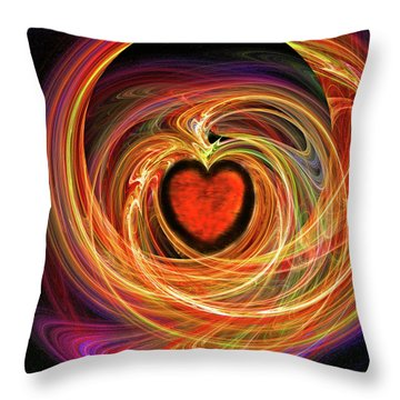 Encompassing  Love Throw Pillow by Michael Durst