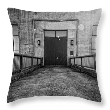 End Of The Line Throw Pillow by Edward Fielding