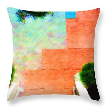 Enter My Dream Throw Pillow by Paul Wear