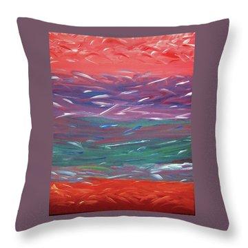 Essence Of The Mind Throw Pillow by Ilsy Bu-Orellana