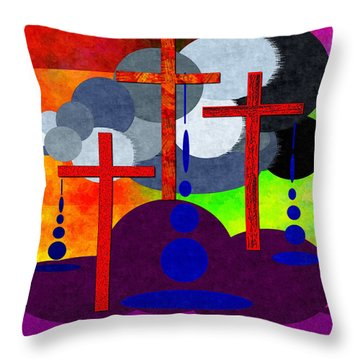 Eternal Consequences Throw Pillow by Glenn McCarthy Art and Photography