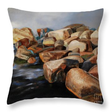 Eternal Things Throw Pillow by Jukka Nopsanen