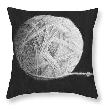Eternity Throw Pillow by Jyvonne Inman