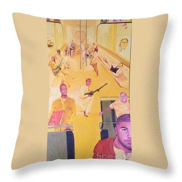 Evolution Throw Pillow by Lauren Livingston