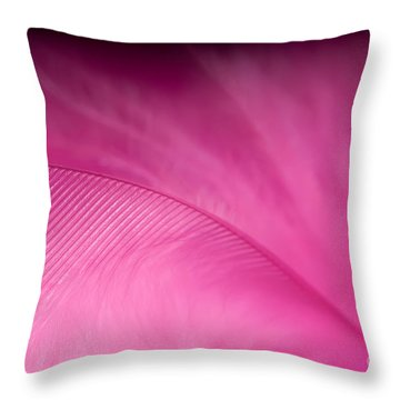 F E T I S H Throw Pillow by Charles Dobbs