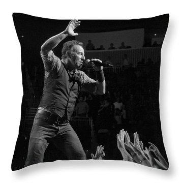 Faith Will Be Rewarded Throw Pillow by Jeff Ross