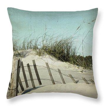 Fallen Throw Pillow by Joan McCool