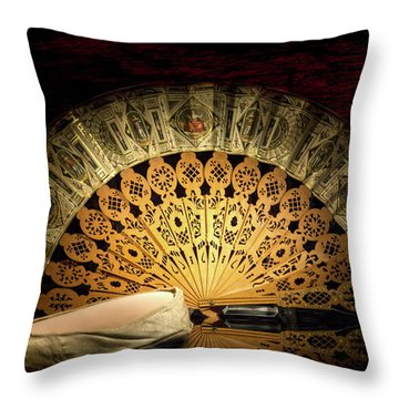 A Memorable First Lady Throw Pillow by Mark Andrew Thomas