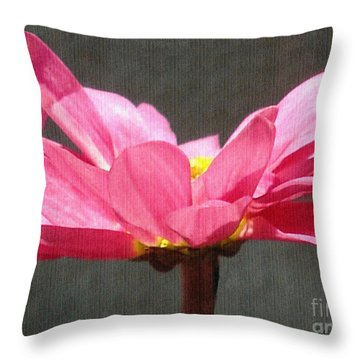Feeling Free Throw Pillow by Sue Melvin