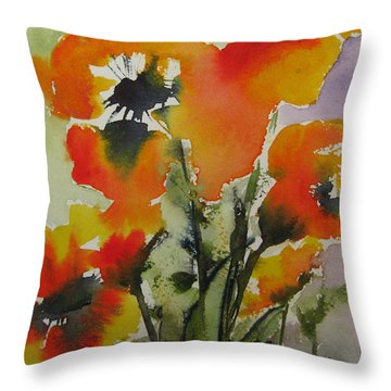 Felicity Throw Pillow by Anne Duke