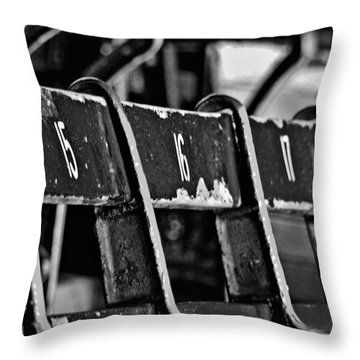 Fenway Too Throw Pillow by Donna Shahan