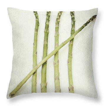 Five Throw Pillow by Priska Wettstein