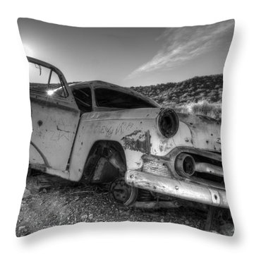 Fixer Upper Throw Pillow by Bob Christopher