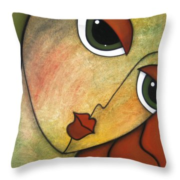 Flawless Throw Pillow by Tom Fedro - Fidostudio