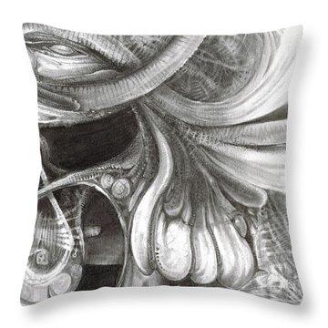 Fomorii Pod Throw Pillow by Otto Rapp