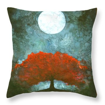 For Ever Throw Pillow by Wojtek Kowalski