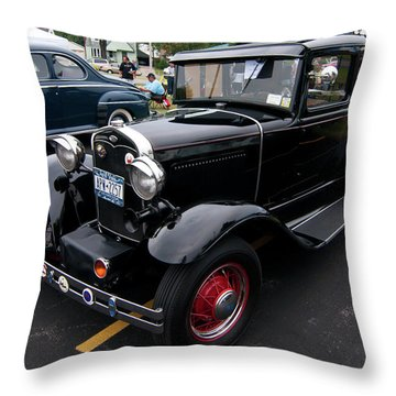 Ford 2102 Throw Pillow by Guy Whiteley