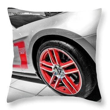 Ford Mustang Boss 302 Throw Pillow by Gordon Dean II