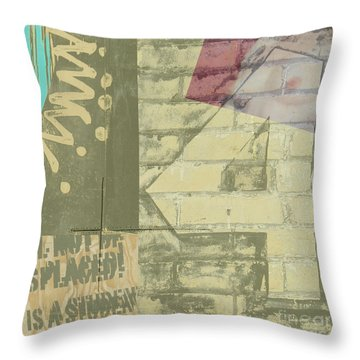 Four Throw Pillow by Gary Everson