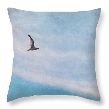 Freedom Throw Pillow by Angela Doelling AD DESIGN Photo and PhotoArt