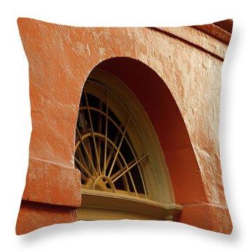 French Quarter Arches Throw Pillow by KG Thienemann