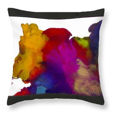 Friend Throw Pillow by Angela L Walker