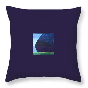 From The Northern Coast Throw Pillow by Jarle Rosseland
