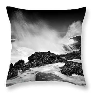 Fury Throw Pillow by Mike  Dawson