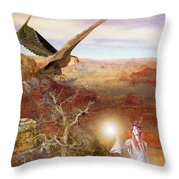 Galdorcraeft Throw Pillow by John Edwards