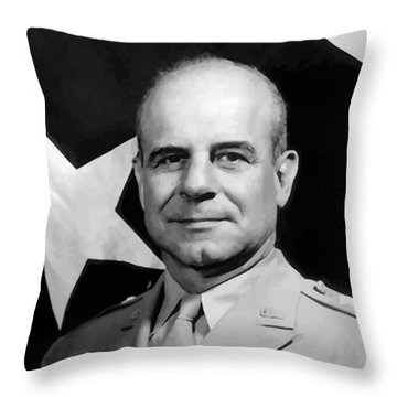General Doolittle Throw Pillow by War Is Hell Store