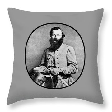 General Jeb Stuart Throw Pillow by War Is Hell Store