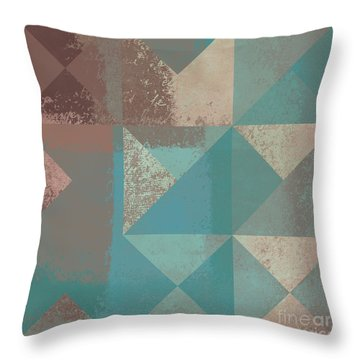 Geomix 03 - S123bc04t2a Throw Pillow by Variance Collections