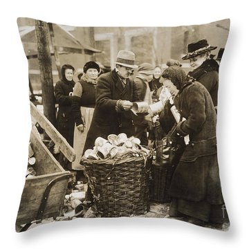 Germany: Inflation, 1923 Throw Pillow by Granger