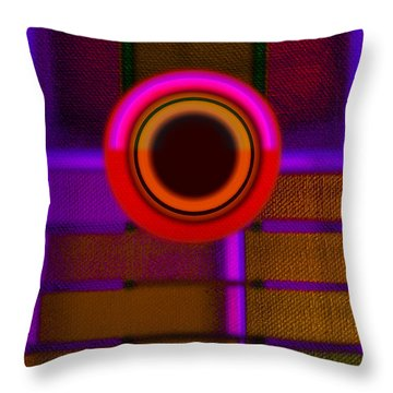 Ginza Twilight Throw Pillow by Charles Stuart