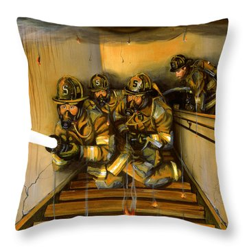 Goin' To Work Throw Pillow by Paul Walsh