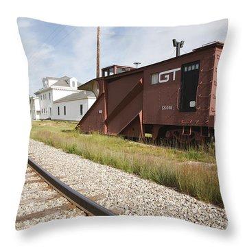 Gorham New Hampshire Throw Pillow by Erin Paul Donovan