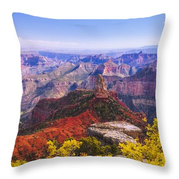 Grand Arizona Throw Pillow by Chad Dutson