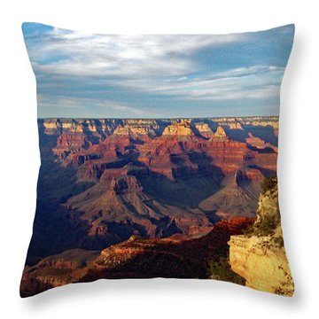 Grand Canyon No. 2 Throw Pillow by Sandy Taylor