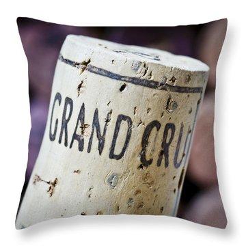Grand Cru Throw Pillow by Frank Tschakert