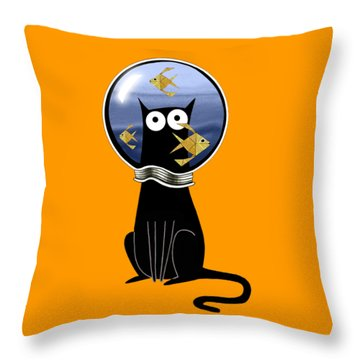 Guilty  Throw Pillow by Andrew Hitchen