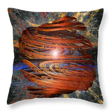 Gyro Throw Pillow by Michael Durst