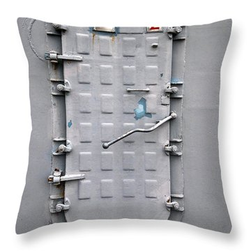 Hatch Secured Throw Pillow by Christopher Holmes