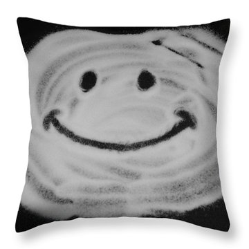Have A Nice Day Throw Pillow by Rob Hans
