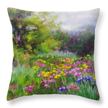 Heaven Can Wait Throw Pillow by Talya Johnson