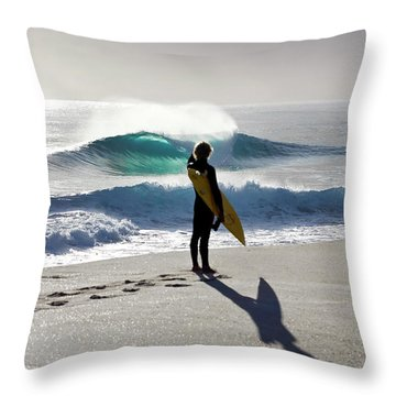 Heaven On A Stick. Throw Pillow by Sean Davey