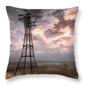 Highwire Throw Pillow by Alina Davis